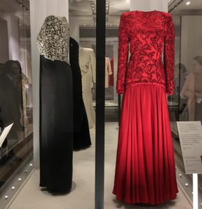 """""""Diana: Her Fashion Story"""" examines the evolution of Princess Diana's style at an exhibition on display at Kensington Palace until the end of 2018. © Amy Laughinghouse"""