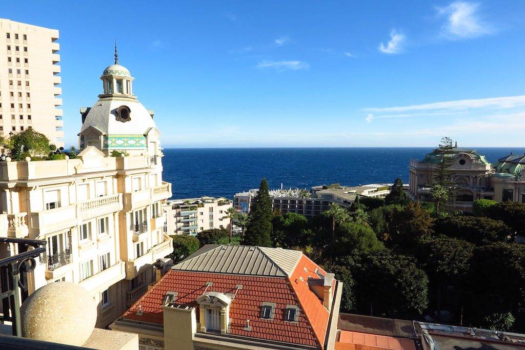 A rooftop view from the Hotel Metropole, Monte Carlo, Monaco. Copyright Amy Laughinghouse