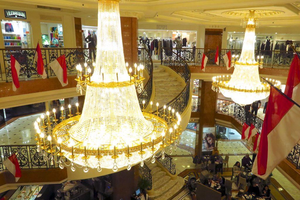 Le Metropole Shopping Center, Monte Carlo, Monaco. Copyright Amy Laughinghouse