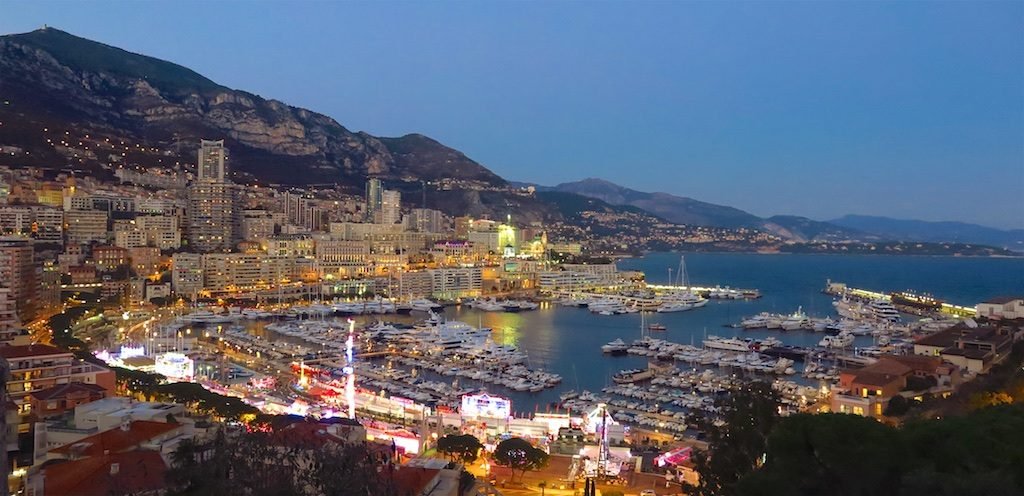 Top things to do in monte carlo monaco amy laughinghouse hits the monte carlo monacos port at night copyright amy laughinghouse publicscrutiny