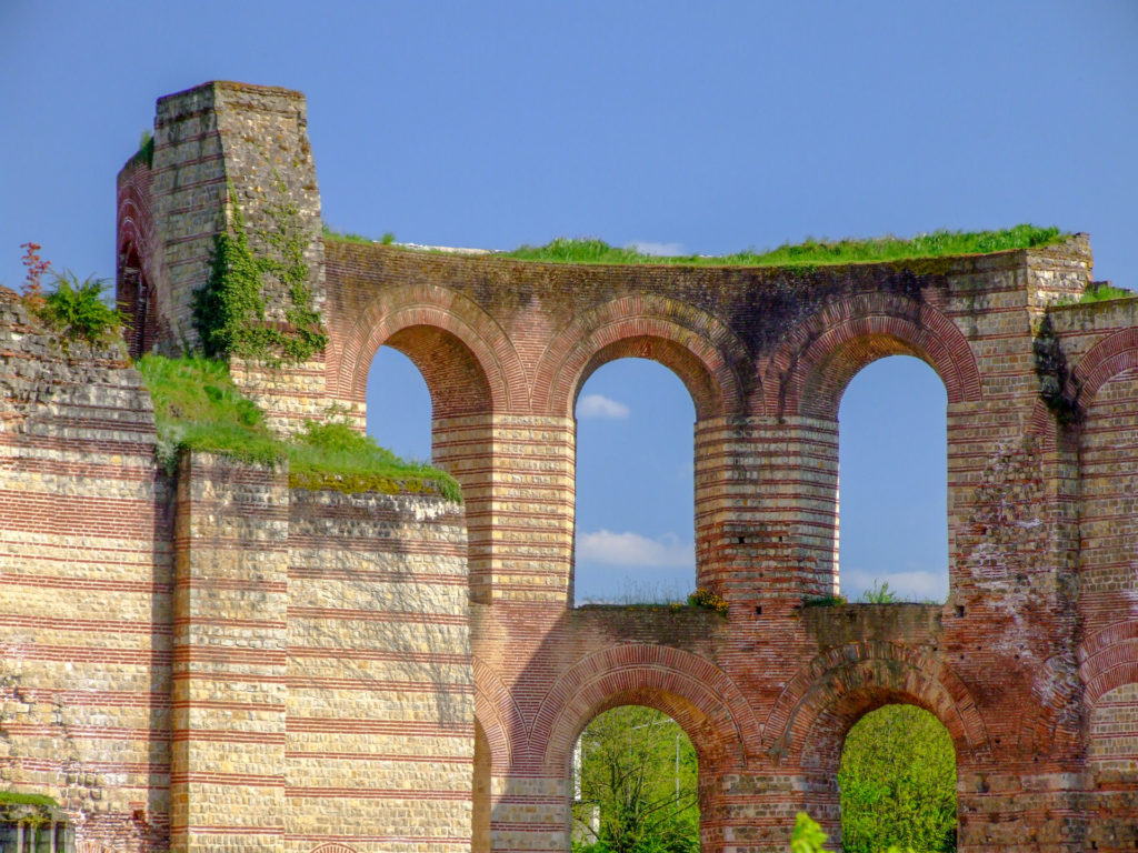 The Kaiserthermen Roman bath complex in Trier. Copyright Amy Laughinghouse
