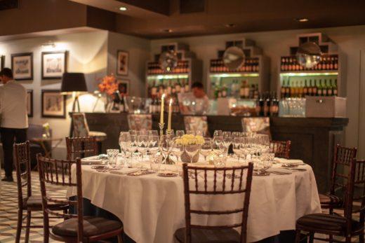 Hispania restaurant, Vina Pomal event. @MariedeChesse