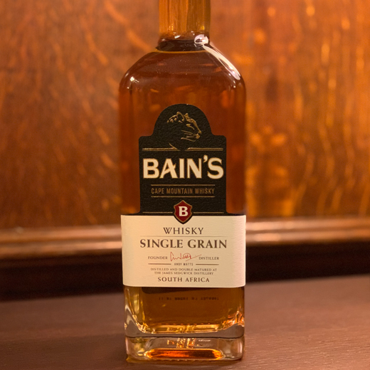 Bain's South African grain whisky